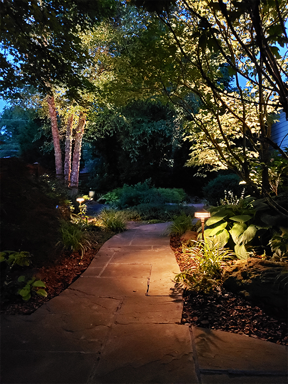 pathway lighting evansville
